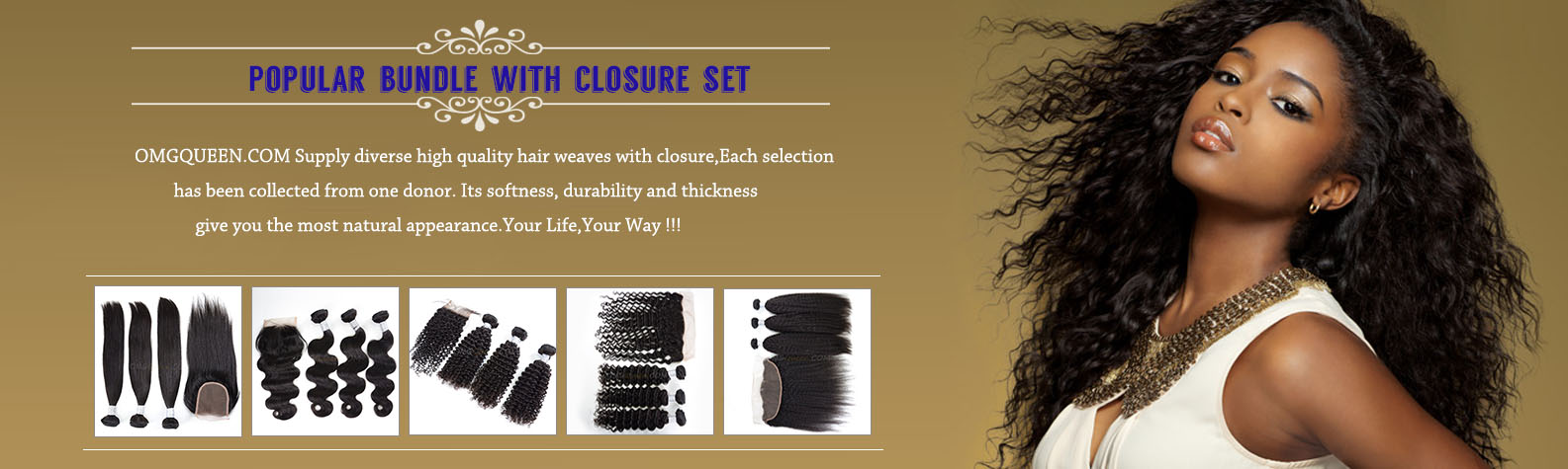 Full Sew In Hair Weaves With Closure Human Hair Wefts With Closure