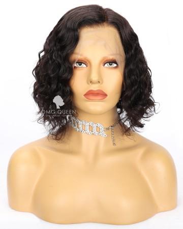10in Kim K Bob Lace Front  Wig Human Hair [CS250]