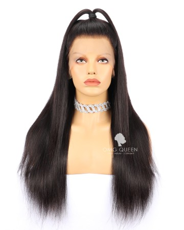 Affordable Virgin Brazilian Hair Silky Straight Full Lace Wigs Good Quality [BFW01]