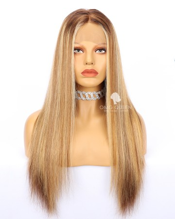 Ciara Style Sext Highlights Lace Wig High Quality Wig [IMW14]
