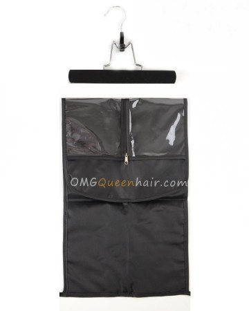 Wigs/Clip In Hair Extension Protective Hanger & Carrier Bag [CT32]
