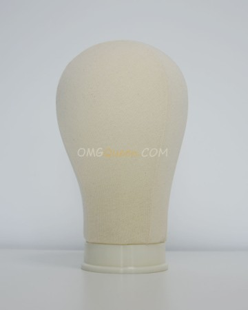 Top Quality Canvas Wig Head for Wig Making Styling  [CT25]