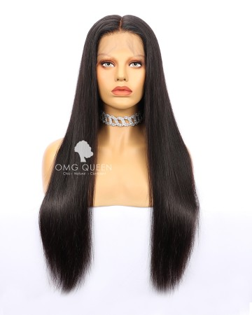 Affordable High Quality Natural Color Malaysian Virgin Hair Silky Straight Full Lace Wigs [MFW01]