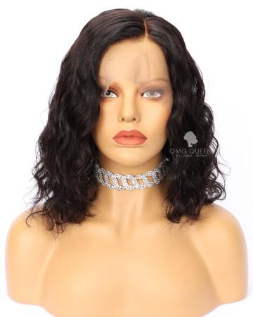 Kim Hairstyles Malaysian Virgin Sexy Wavy Lace Wigs [MMW03]