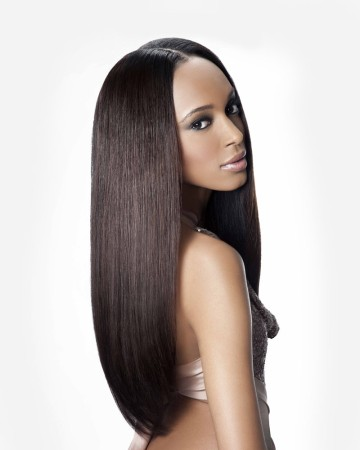 High Quality Natural Color Indian Virgin Hair Silky Straight Full Lace Wigs [IFW01]