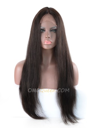 Natural Color Silky Straight 130% Density CapF U Shape Virgin Brazilian Wig Affordable Hair [SD01]