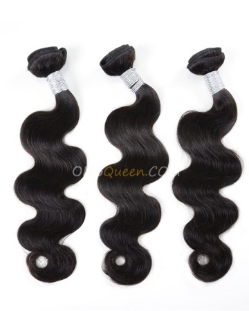 Virgin Brazilian Natural Color Body Wave 3pcs Hair Weave/Weft Unprocessed Hair [BHW22]