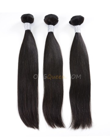 Natural Color Virgin Brazilian Silky Straight 3pcs Hair Weave/Weft Unprocessed Hair [BHW21]