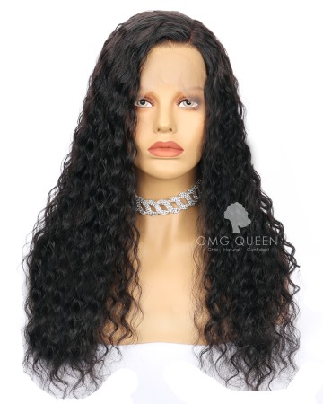 Virgin Brazilian Hair Deep Wave Full Lace Wigs Affordable Good Quality Hair [BFW05]