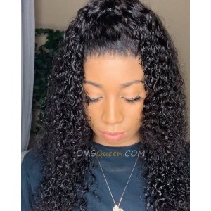 Deep Wave 360 Wig Hot 180% Density  Virgin Brazilian Good Quality Affordable Wig  [BTW05]