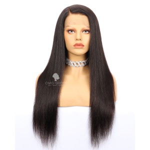 Affordable 180% Density 360 Wig Virgin Brazilian Silky Straight Hair Good Quality [BTW01]