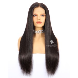 High Quality 180% Density 360 Wig Malaysian Virgin Silky Straight Hair [MTW01]