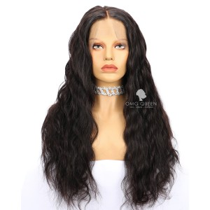 Hot 180% Density 360 Frontal Wig High Quality Malaysian Virgin Hair Body Wave Affordable Wig  [MTW02]