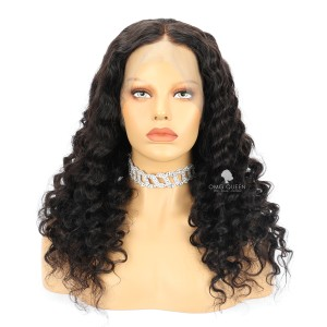 Loose Deep Wave Virgin Brazilian Hair 360 Frontal Wig [BTW11]