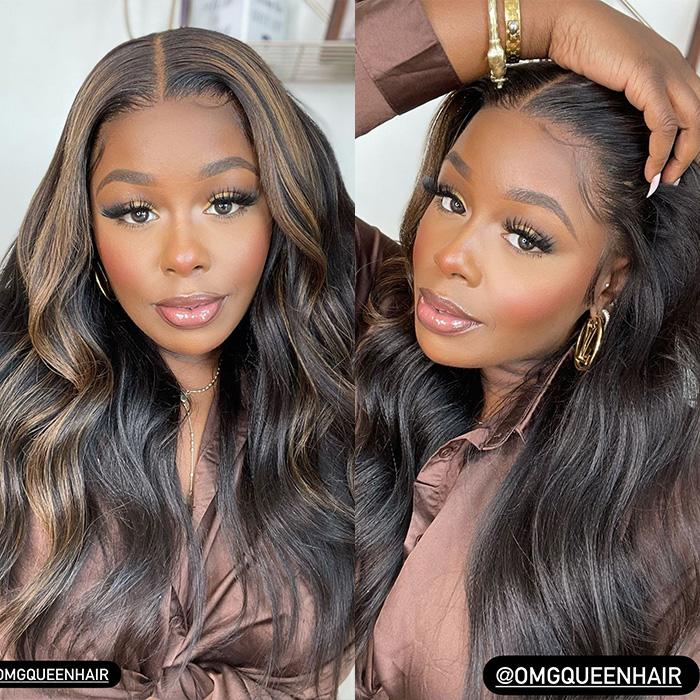 beautiful fall color wig
