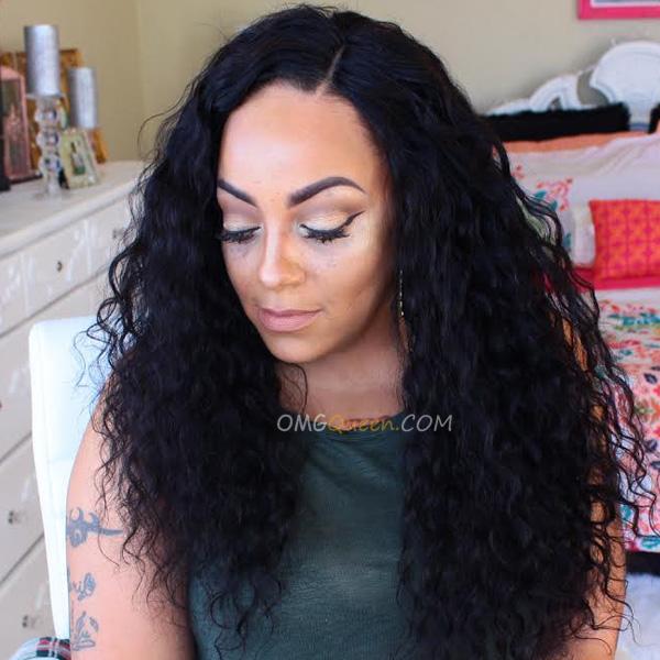 150% Density Sexy Bounce Curl Virgin Brazilian Hair Cheap Good Quality U-Shape Wigs [BUW09]