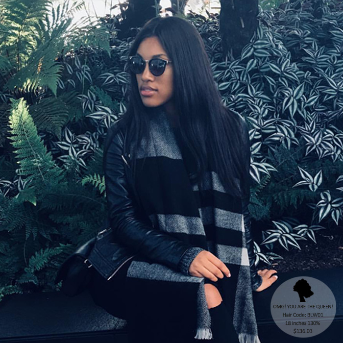 Affordable Virgin Brazilian Hair Silky Straight Lace Front Wigs Good Quality [BLW01