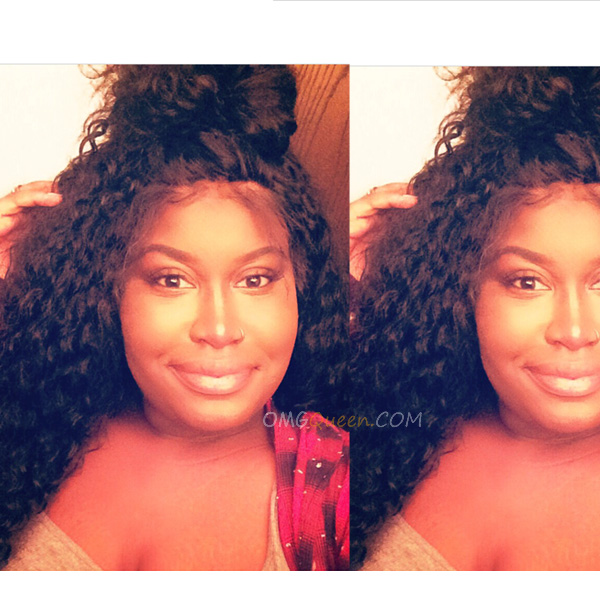 Deep Curly Virgin Brazilian Hair Full Lace Wigs Affordable Good Quality Hair [BFW10]