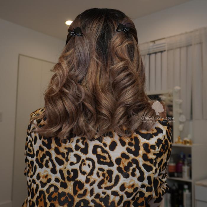 Eva Longoria Ombre Chestnut Brown Yaki Bob Lace Wig Affordable Virgin Brazilian Hair [BMW20]