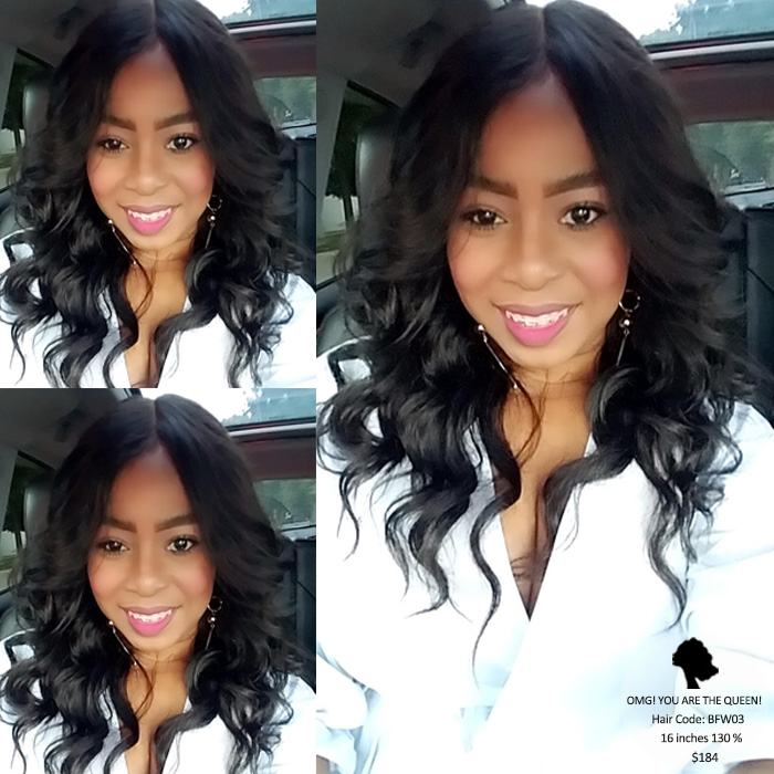 Good Quality Virgin Brazilian Hair Loose Wave Full Lace Wigs Affordable Hair [BFW03]