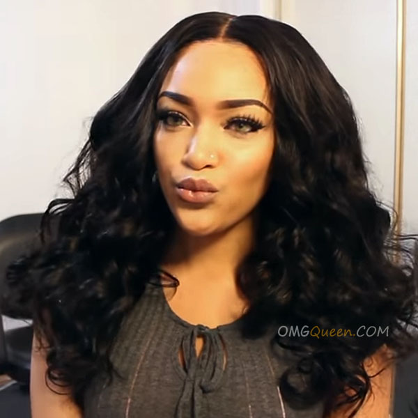 Hot 180% Density 360 Frontal Wig Virgin Brazilian Body Wave Good Quality Affordable Wig [BTW02]