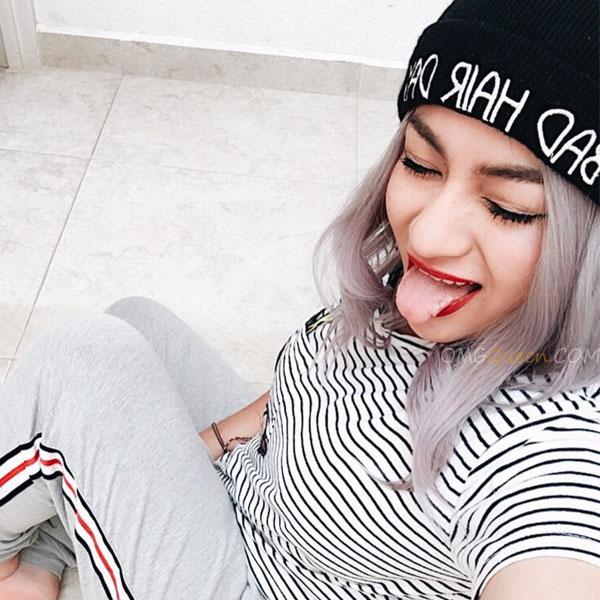 Popular Ombre Grey Bob Lace Wig Indian Virgin High Quality Wig [IMW25