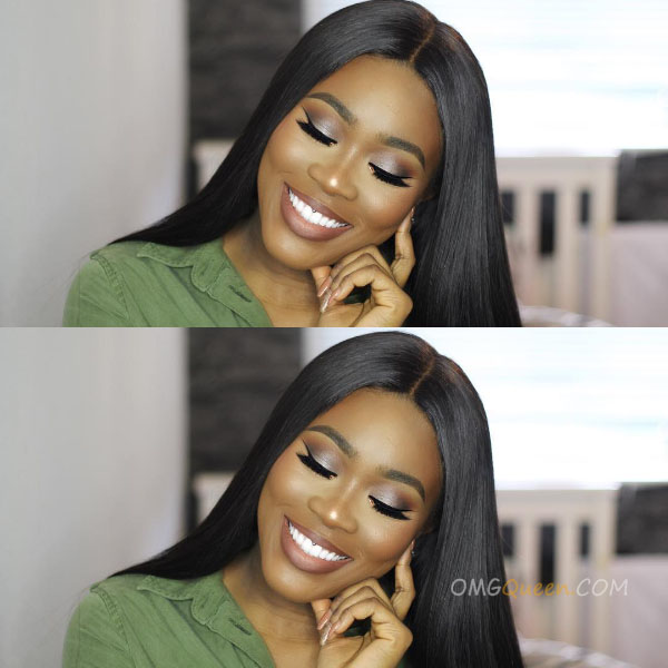 Virgin Brazilian Hair Silky Straight Natural Color One Closure With 4pcs Hair Weaves Unprocessed Hair [BBC21]