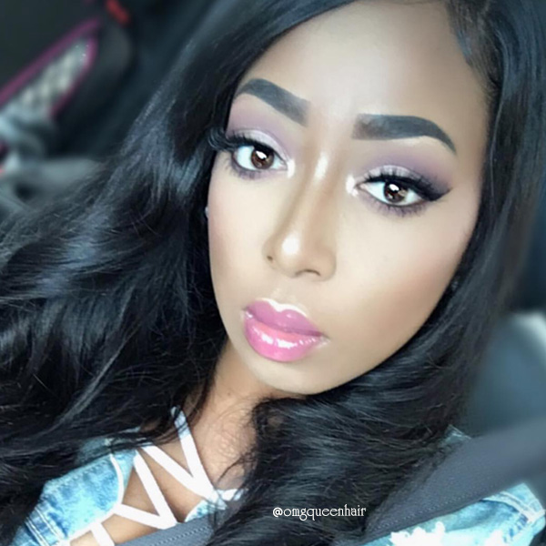 Virgin Brazilian Hair Yaki Straight Lace Front Wigs Affordable Good Quality Hair [BLW02