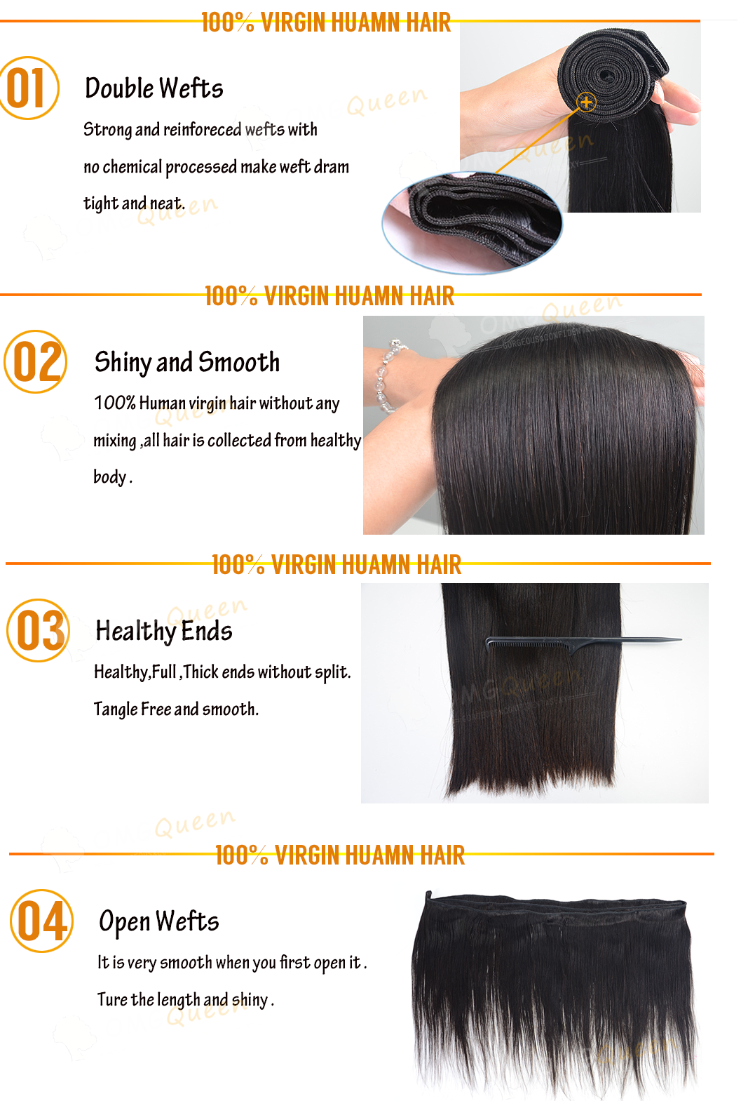 100% Vigin Human Hair