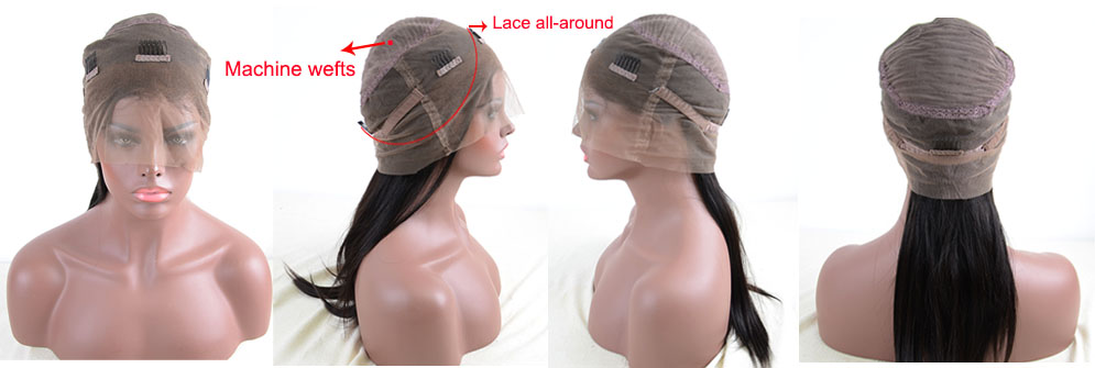 360 lace wig cap