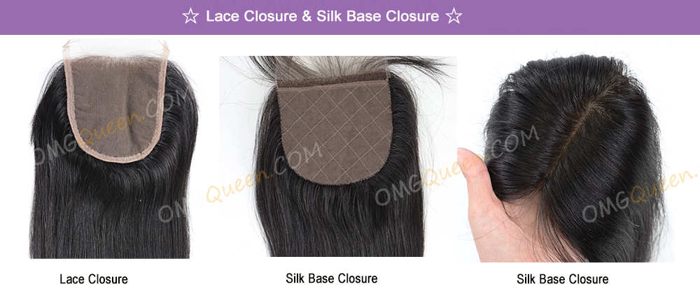 lace closure and silk base closure
