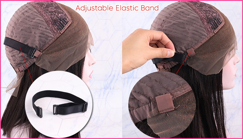 Adjustable elastic band